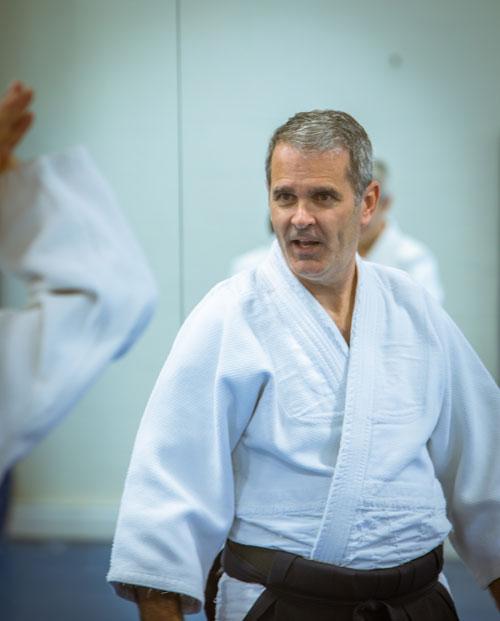 Aikido Shindokan Instructors - Johnston Shihan