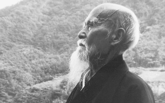 Morihei Ueshiba - Aikido Shindokan